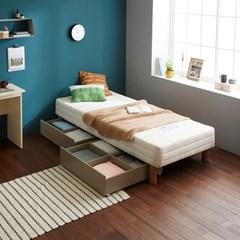 [두닷모노] 로디 서랍형 침대 S_서랍 2EA/화이트