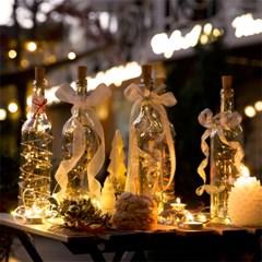 와인 파티 LED 무드등 (건전지타입/파티조명/크리스마스_(1717418)