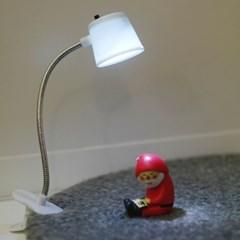 심플형 미니 집게 LED 조명