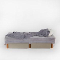 [두닷모노] 로디 서랍형 침대 SS_서랍 2EA/그레이