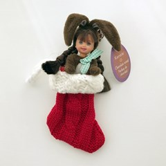 Mini Santa Stocking 미니산타양말
