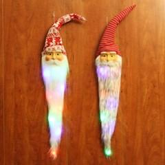 Mustache Santa Hanging Lamp