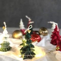 크리스마스 트리 캔들