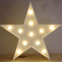 LED 앵두전구 조명등 (별 화이트)_(301650783)