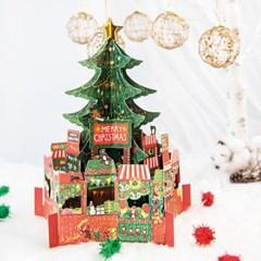 디원 크리스마스 트리입체자석카드(YX35)
