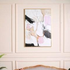 로즈블랑 추상 아트 캔버스 포스터 액자 (70x100)