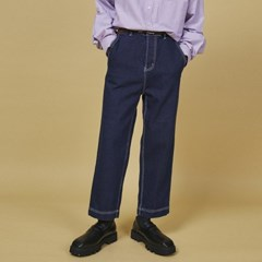 log stitch denim pants (2 color) - UNISEX_(1095216)