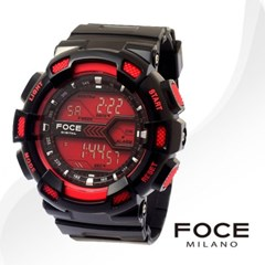 FOCE 포체 FD111RRD 남성시계 우레탄밴드 손목시계