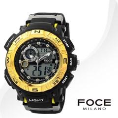 FOCE 포체 FD7100BG 남성시계 우레탄밴드 손목시계