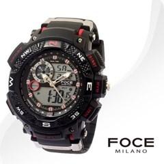 FOCE 포체 FD7100RD 남성시계 우레탄밴드 손목시계