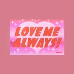 LENTICULAR CARD_LOVE ME