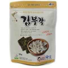 하동권여사 김부각(전통맛) 30g×10팩_(2181020)