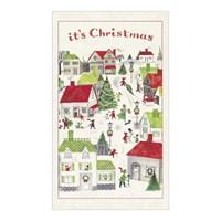 카발리니 빈티지 티타올-크리스마스 빌리지