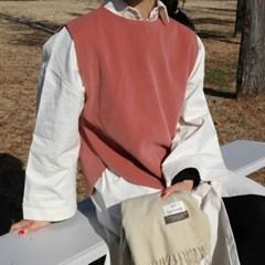 Wool modern vest(울10%)