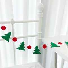 Tree & Dot Garland