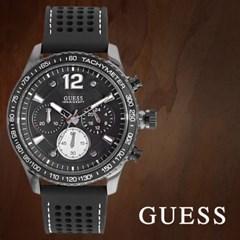 GUESS 게스 W0971G1 남성시계 우레탄밴드 손목시계