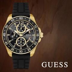 GUESS 게스 W0798G3 남성시계 우레탄밴드 손목시계