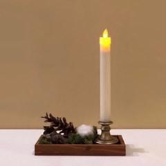 빈티지 촛대 장식