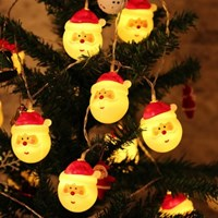크리스마스 산타 가랜드 조명