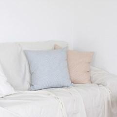 스포이드 - narrow stripe cushion cover 50x50