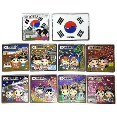 한국 전통캐릭터 카드타입 냉장고자석(10개묶음)