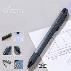 [Ozem] UV펜&라이트 멀티 터치펜 8in1