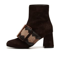 LS0016 Stella Ankle Boots Brown