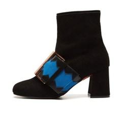 LS0016 Stella Ankle Boots Black