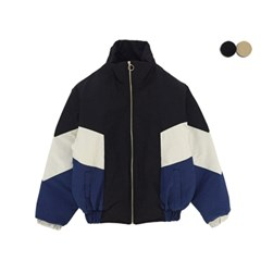 COLOR BLOCK PADDING PUFFER(2COLOR)*UNISEX