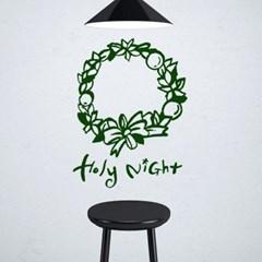 1AM 크리스마스 리스 스티커 Holy night_(1244788)