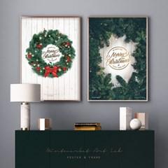 크리스마스 포스터 액자 모음