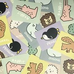 Animal 스티커팩