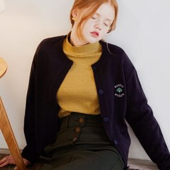[루흠] RUSTLE CARDIGAN NAVY