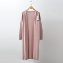 Hoega Cashmere Wool Long Cardigan - New