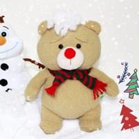 19곰테드 크리스마스 새빨간 루돌프코 인형 30CM_(1049686)