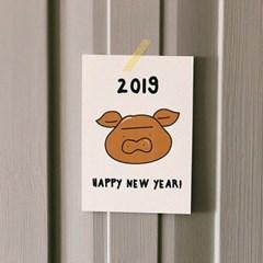 [엽서]Happy new year Golden pig