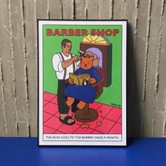 barbershop poster A3/A2