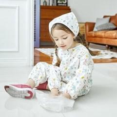 베베누보 유아동 전신미술가운 점프수트_보타닉주