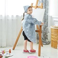 베베누보 유아용 앞치마 미술가운_새턴플러스
