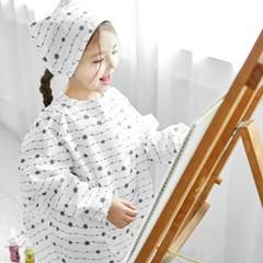 베베누보 유아용 앞치마 미술가운_리니어스타