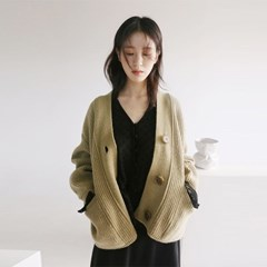 hachi pocket cardigan (4colors)_(1099764)