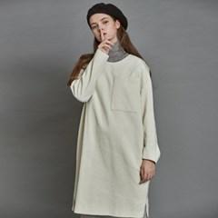 [더케이스토리] Corduroy Dress_ Off white