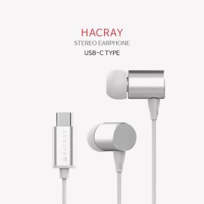 HACRAY(하쿠라이) C타입 스테레오 이어폰 하이레졸루션