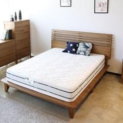 로이퍼니처랩 모리아 에쉬 원목 침대 (매트별도)_(2178044)