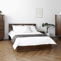 [헤리티지월넛] A형 침대 SK/EK/LK_(1091259)