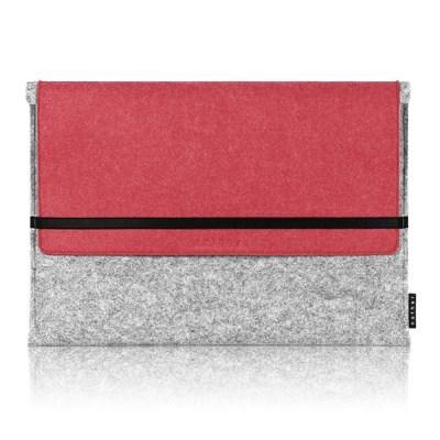 Sleeve for Macbook air & Macbook (Gray/Red)