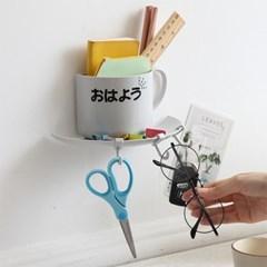 커피 한 잔 무타공 벽선반