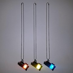 fluorescence lighter necklace (2color)
