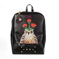 와니지/ 부엉이백팩 owlcactusbackpack