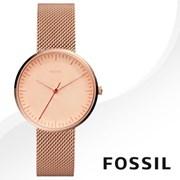 FOSSIL 파슬 ES4425 여성시계 메탈밴드 손목시계
